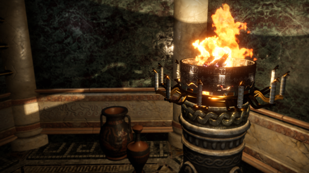 Beyond Medusa's Gate Screenshot Brazier