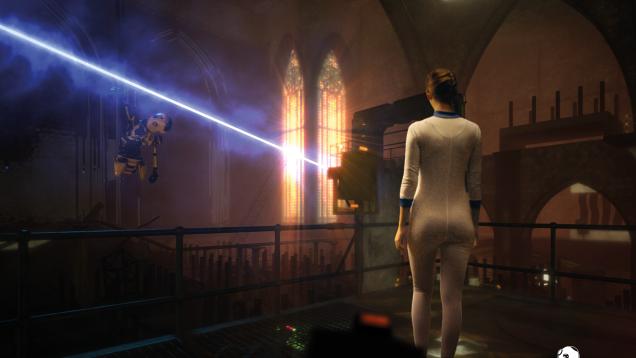 HUXLEY - Save the Future Screenshot Laser