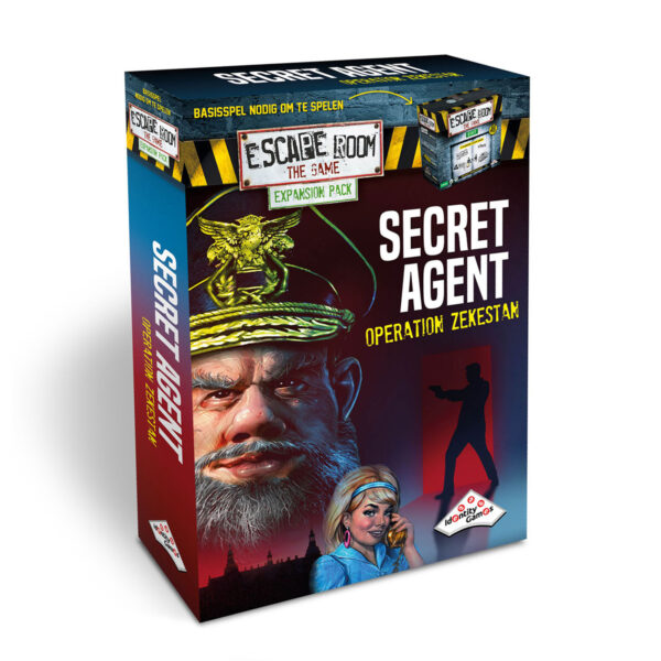 Escape Room the Game Secret Agent: Operation Zekestan