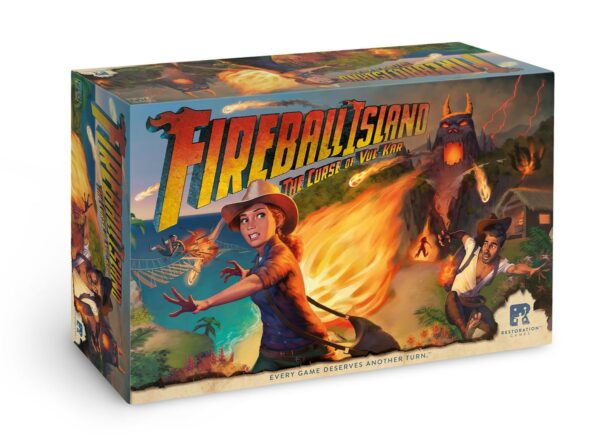 Fireball Island the Curse of Vuk-Kar Box