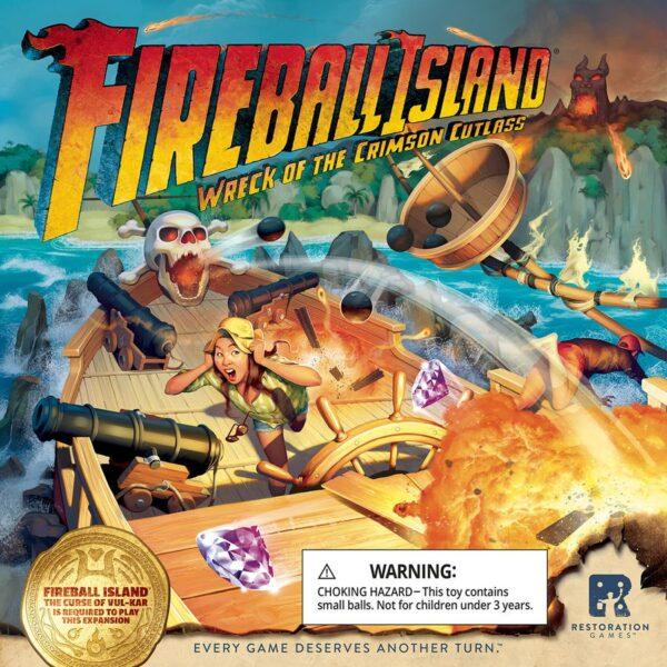 Fireball Island Ship Box