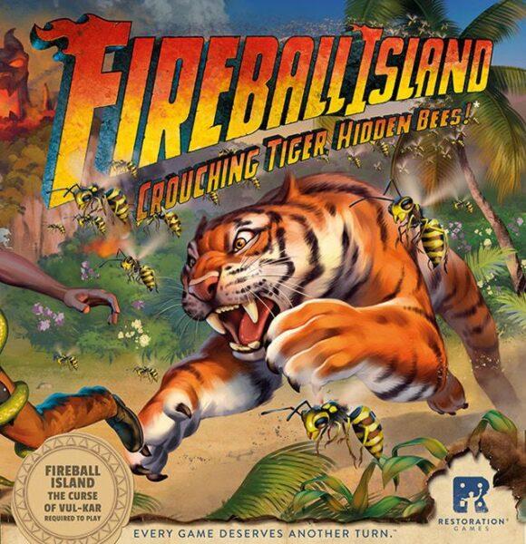 Fireball Island Crouching Tiger Hidden Bees Box