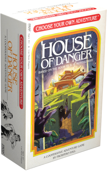 Choose your own Adventure - House of Danger Box