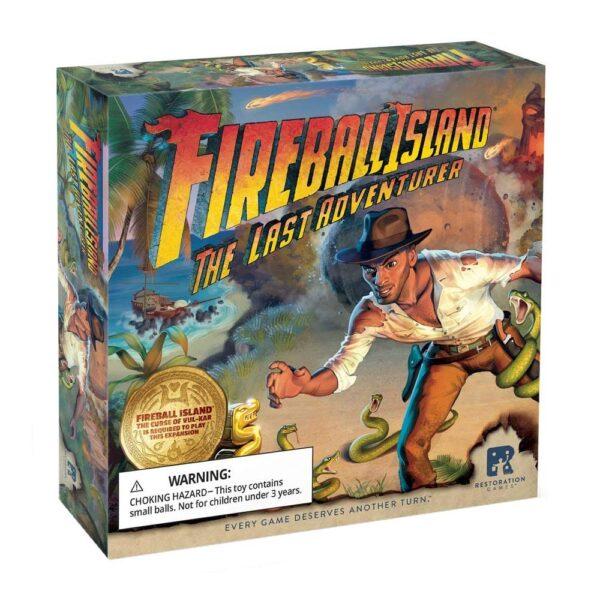 Fireball Island the Last Adventurer Box