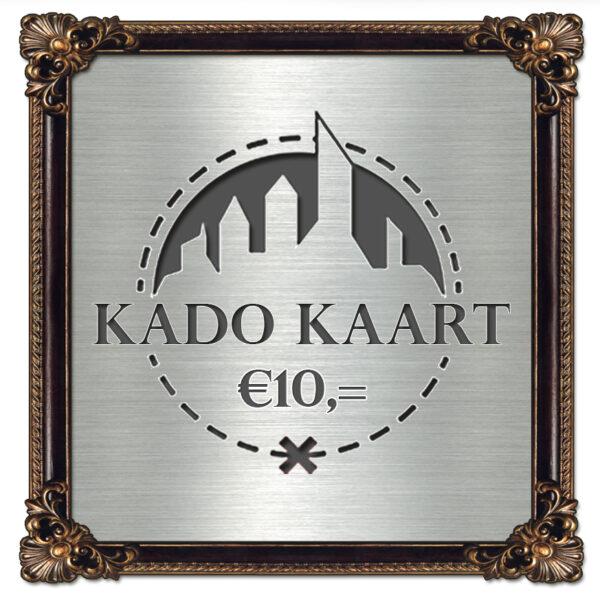 Kado Kaart €10,=