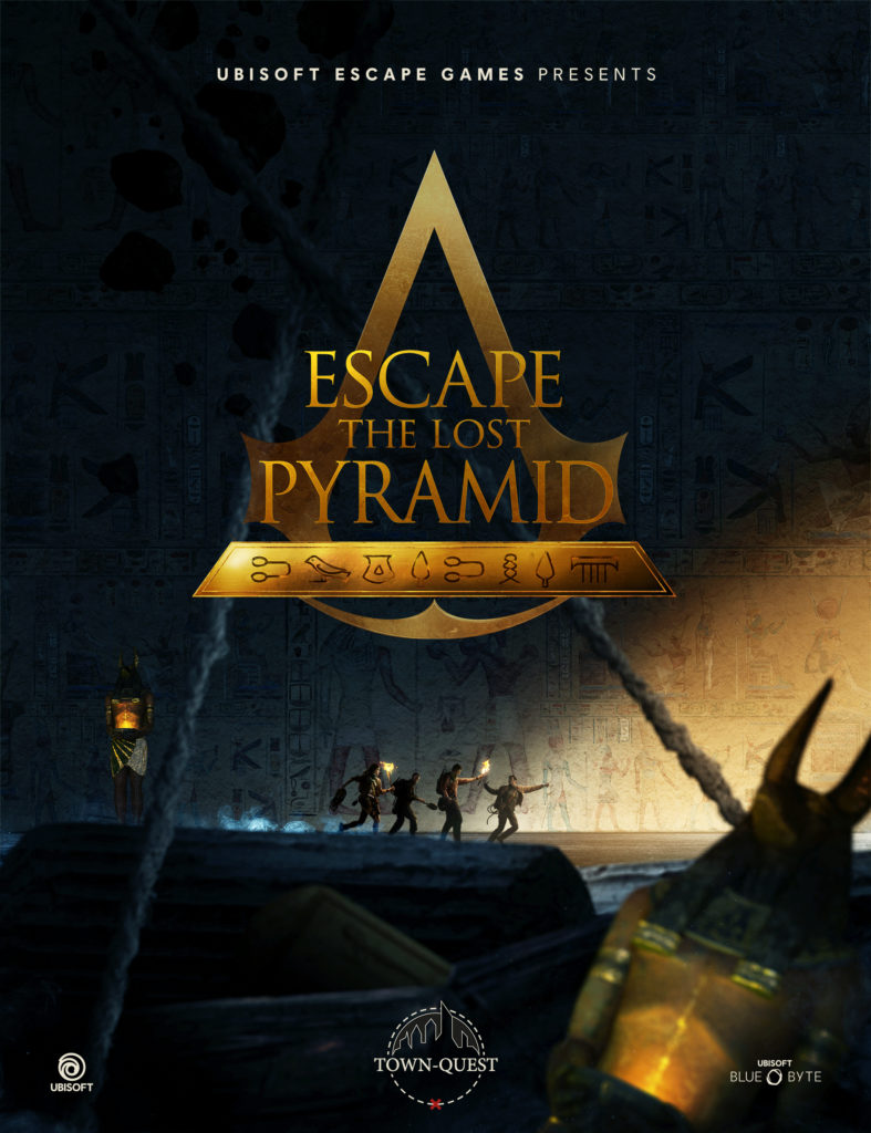 Escape the Lost Pyramid VR Escape room Town-Quest Zoetermeer