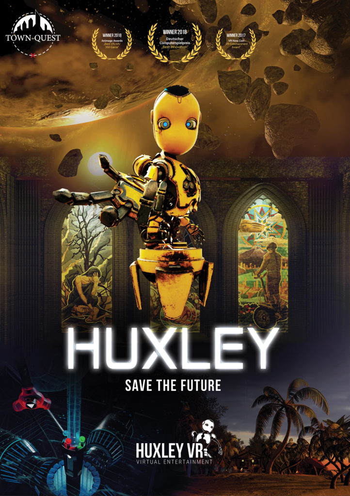 HUXLEY Save the Future VR Escape Town-Quest Zoetermeer