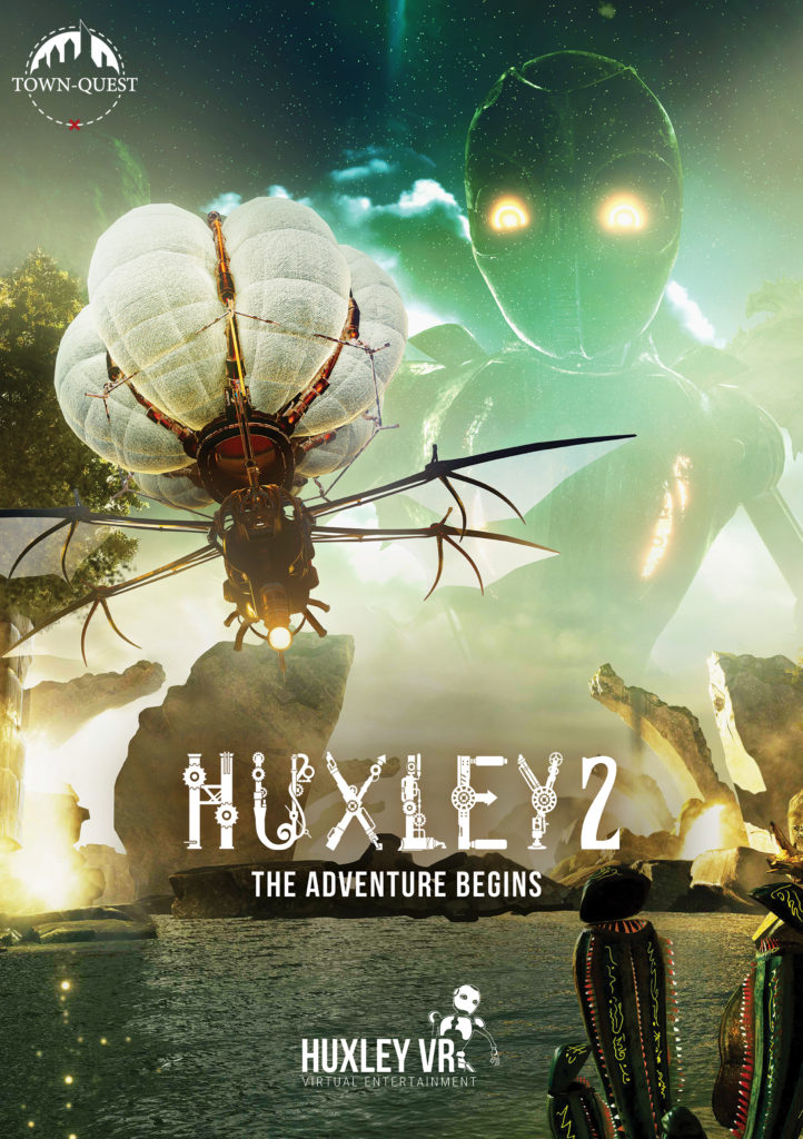HUXLEY the Adventure Begins VR Escape Room Town-Quest Zoetermeer