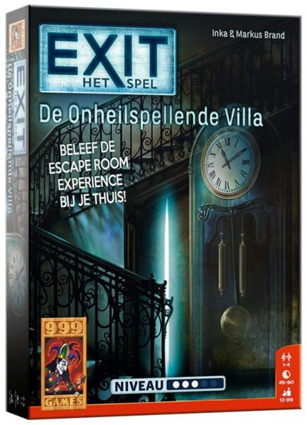 EXIT De Onheilspellende Villa Box