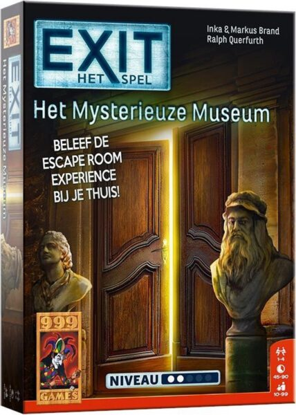 EXIT Het Mysterieuze Museum Box