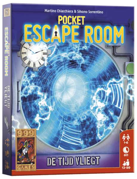 Pocket Escape Room De Tijd Vliegt