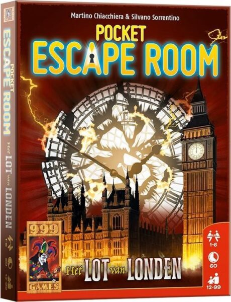 Pocket Escape Room Het Lot Van Londen Box