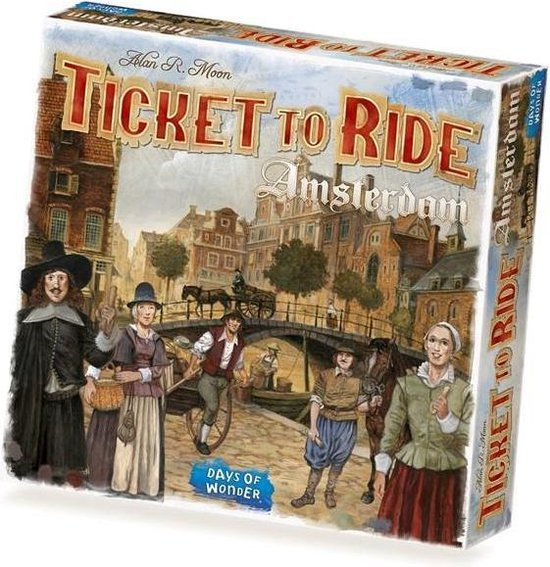 Ticket to Ride Amsterdam Box