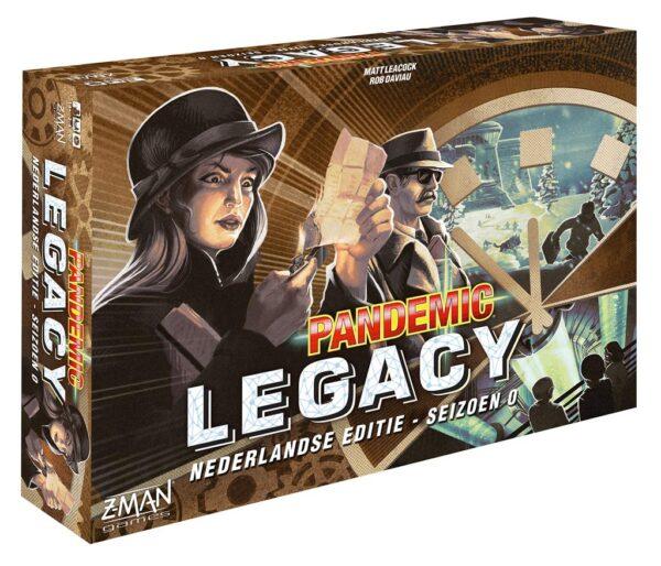 Pandemic Legacy Seizoen 0 Box