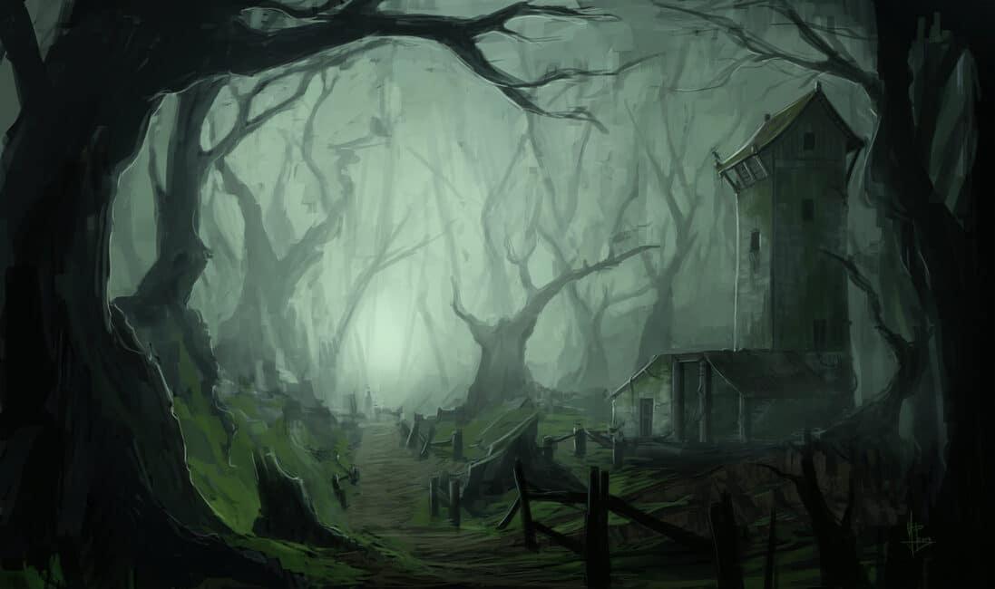 Dark Forest Banner