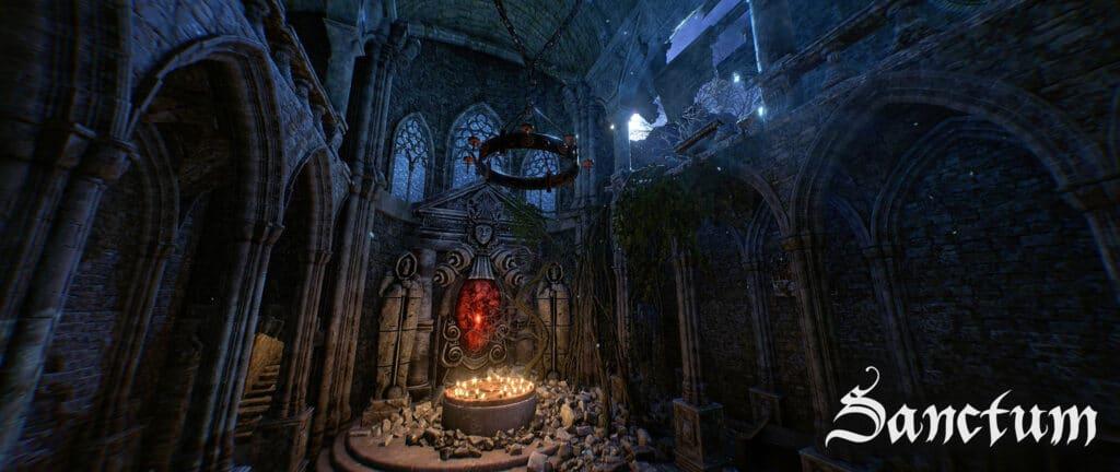 Sanctum Virtual Reality Escape Room Altaar