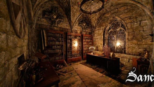 Sanctum Virtual Reality Escape Room Workstation
