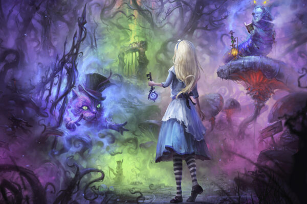 Alice in Wonderland Virtual Reality Escape Room