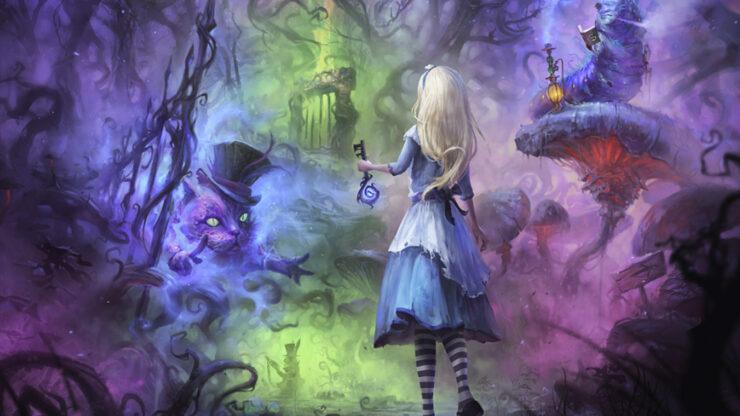 Alice in Wonderland Virtual Reality Escape Room