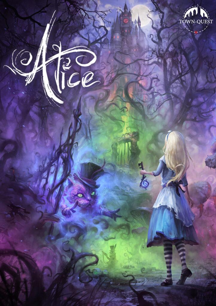 Alice Virtual Reality Escape Room Poster