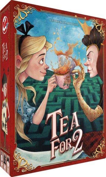 Tea for 2 Box (Alice in Wonderland
