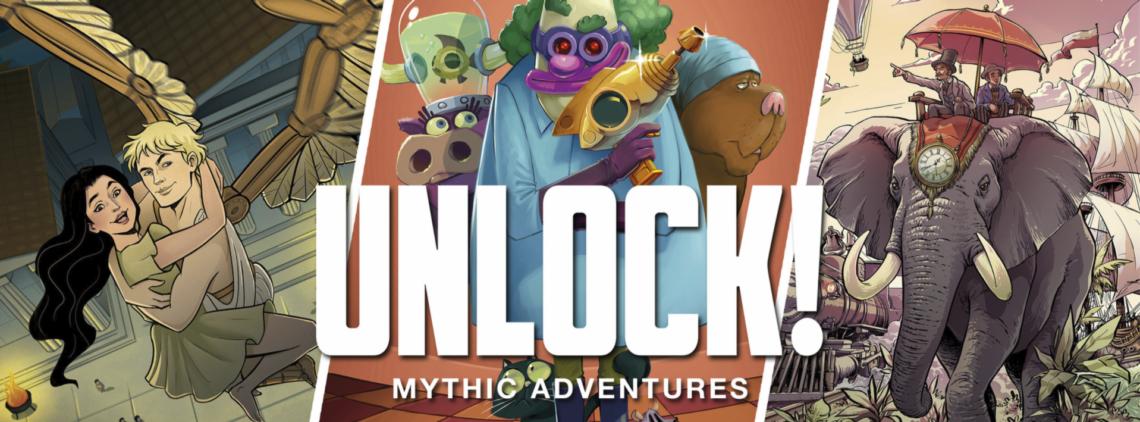 Unlock! Mythische Avonturen Banner