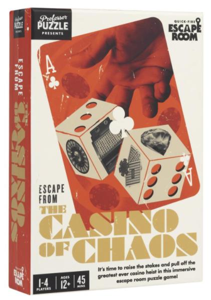 Escape from the Casino of Chaos Box