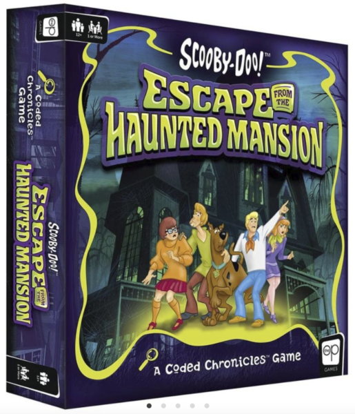 SCOOBY-DOO ESCAPE FROM THE HAUNTED MANSION BOX